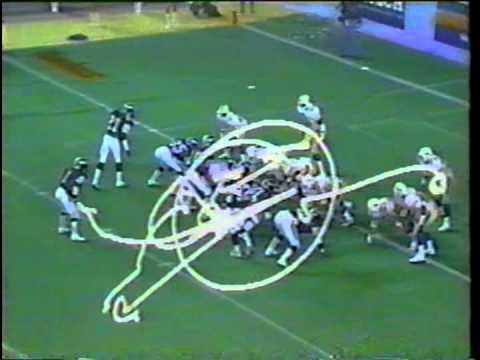 AFL 1987 DENVER DYNAMITE AT CHICAGO BRUISER