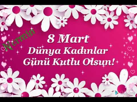 8 mart tebriki Nermin