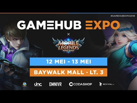 GAMEHUB EXPO 2018 - Mobile Legends Tournament Day 2 - Louvre vs CGR #0