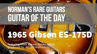 Guitar of the Day: 1965 Gibson ES-175D Sunburst | Norman's Rare Guitars