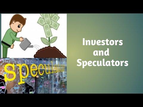 Investors and Speculators/types of speculators