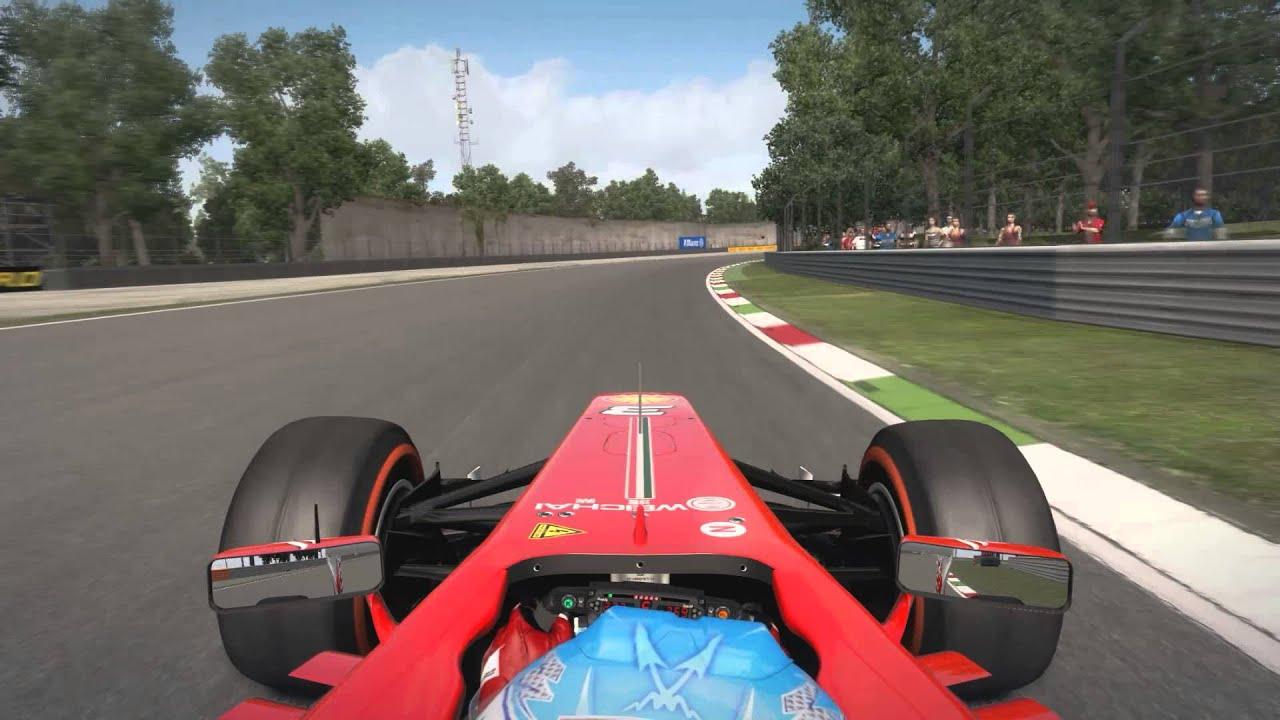F1 2013 Hot Lap Monza 1.20.288 (Prime tires) - YouTube