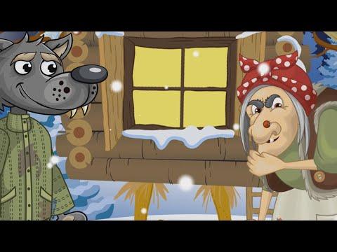 Снегурочка и баба яга мультфильм