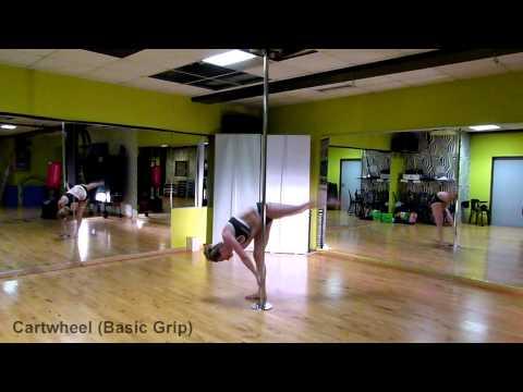 Pole Dance - Cartwheel (Basic Grip) Vol. 5.4