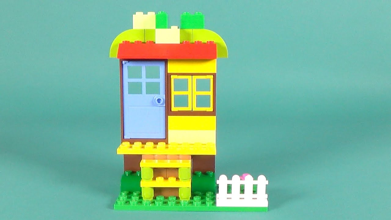 Lego house basic building instructions lego classic for How to build a house step by step instructions