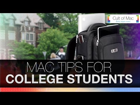 Mac Tips For College Students