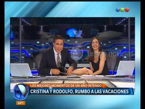 Los mejores momentos de Cristina Pérez y Rodolfo Barili - Telefe Noticias