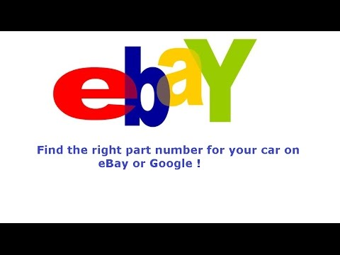 how to find the right oem part number for your car youtube. Black Bedroom Furniture Sets. Home Design Ideas