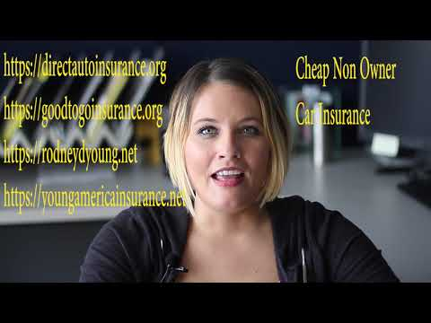 cheap-non-owner-car-insurance