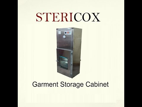 Cleanroom Garment Storage Cabinet
