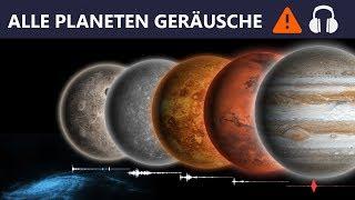 Gambar cover Alle mysteriösen Planeten Geräusche im Universum (Kopfhörer anziehen!)