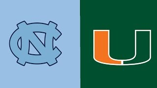 Week 5 2018 North Carolina at #16 Miami Full Game Highlights