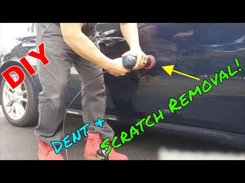 Nissan Maxima Dent and Scratch Removal B&S Customs DIY Polishing Polish
