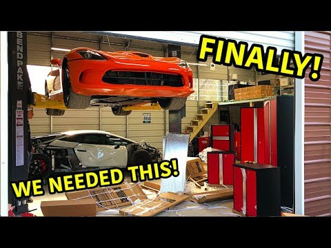 Goonzquad Garage Upgrades!!!
