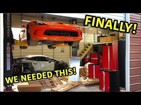 Goonzquad Garage Upgrades!!!