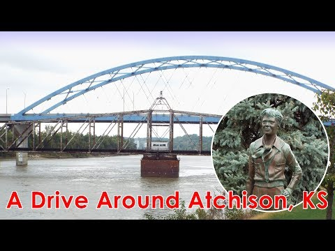 A Drive Around Atchison, KS