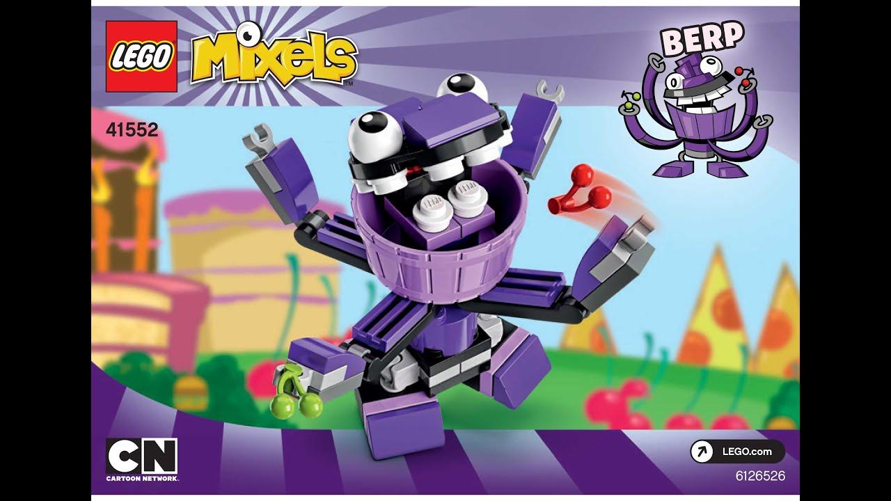 LEGO MIXELS BERP LEGO 41552 Munchos Mixels Series 6 - YouTube