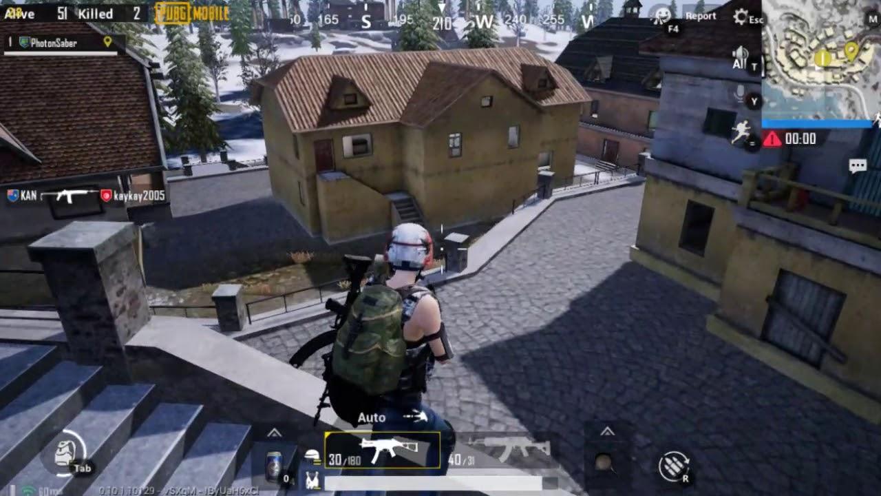 Lenovo G410 – PUBG Mobile – Gameplay [Test] [Tencent Gaming Buddy] [Vikendi Map]