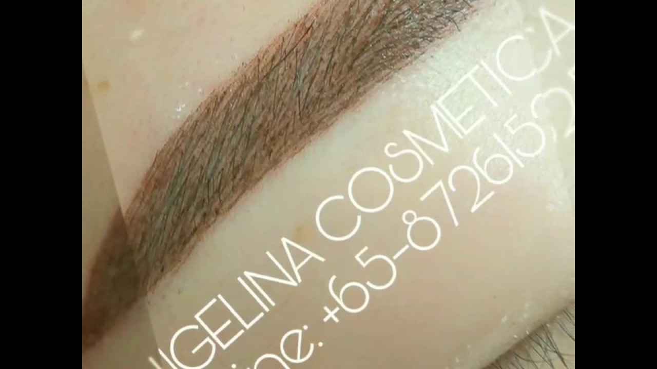 Misty Powdered Brows Embroidery Collection By Angelina Cheah Youtube