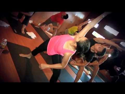 Hot Yoga with Celebrity  Vonny Cornelya at Celebrity Fitness Bogor