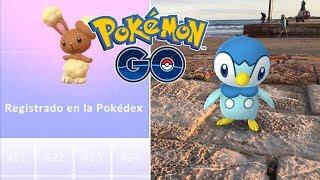 PRIMERAS CAPTURAS Y REGISTROS EN LA POKEDEX DE 4 GENERACIÓN! [Pokémon GO-davidpetit]
