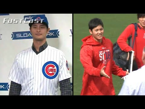 MLB.com FastCast: Cubs introduce Darvish - 2/13/18
