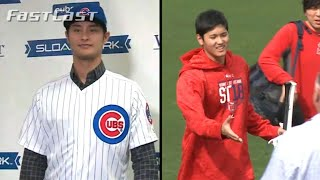 MLB.com FastCast: Cubs introduce Darvish - 2/13/18