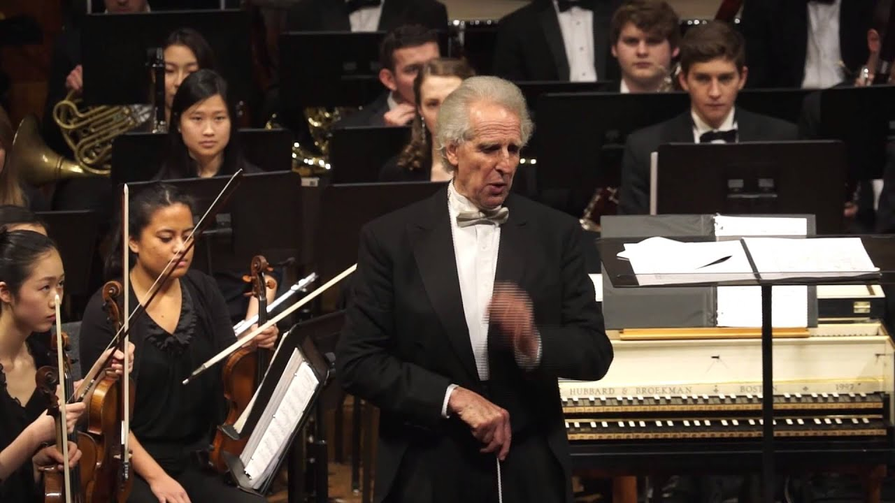 Boston Philharmonic Youth Orchestra: Schoenberg - Five Pieces for  Orchestra, Mvt  I Premonition