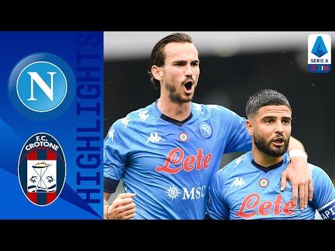 Napoli Crotone Goals And Highlights