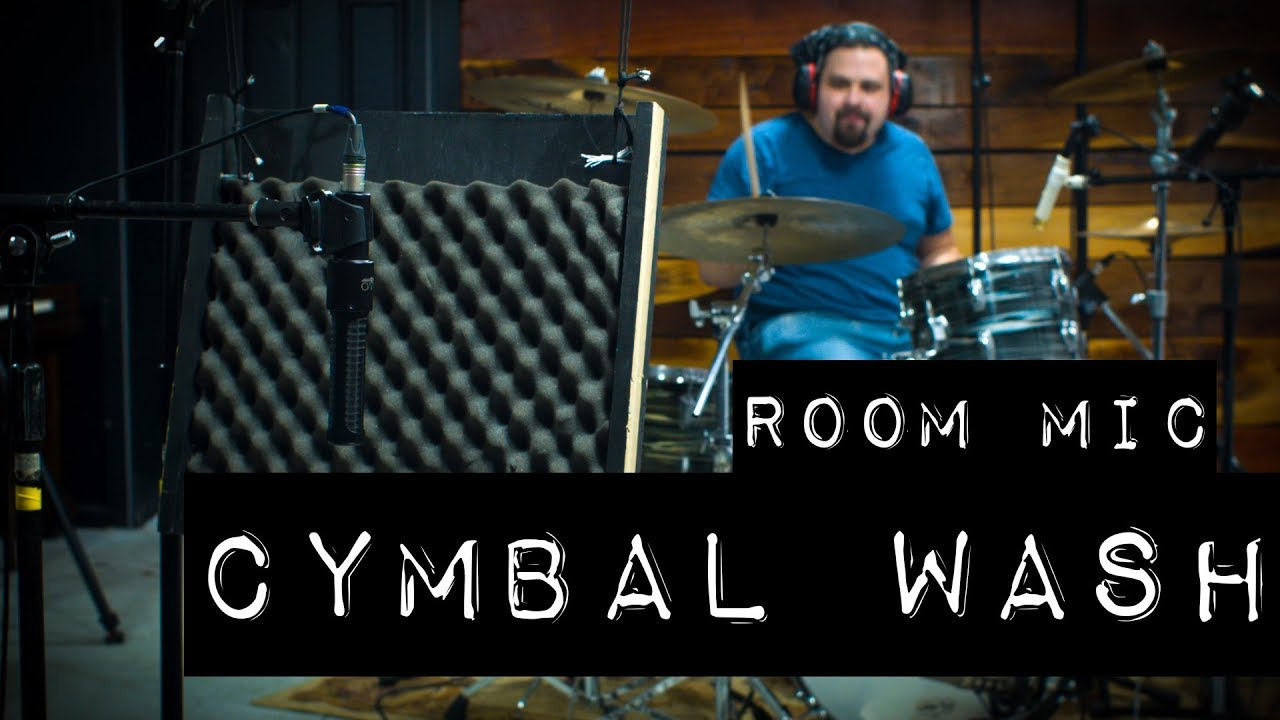 Drum Room Mics - How to Get MORE Drums, and LESS Cymbals