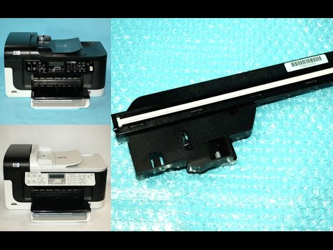How To Replace Scanner Lamp Bulb Unit On Hp Officejet 6500