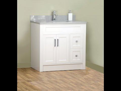 "36""-shaker-style-bathroom-vanity-with-stone-top"