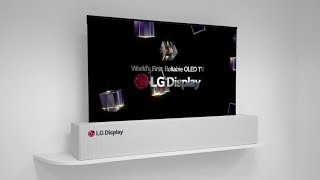 LG 8K Television and Rollable OLED Display (CES 2018)