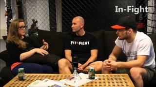 Anna Elmose og Mads Burnell - Rumble Sports - interview