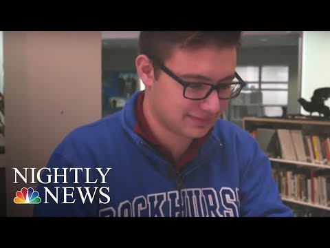 Kansas Teens Too Young To Vote Are Running For Governor Instead | NBC Nightly News