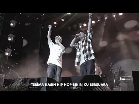 THANKS ft TUAN TIGABELAS (Live Jakarta Rap Festival 2017)