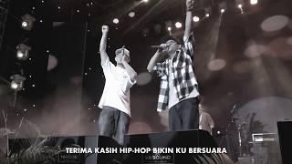 Thanks Ft Tuan Tigabelas  Live Jakarta Rap Festival 2017