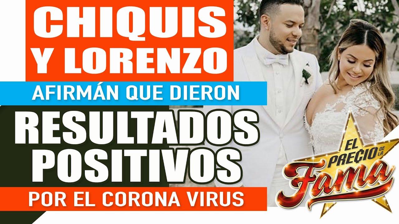 ¡Chiquis RIVERA afirma en un en vivo que ella y Lorenzo Méndez dieron positivo en el cor0na virus!
