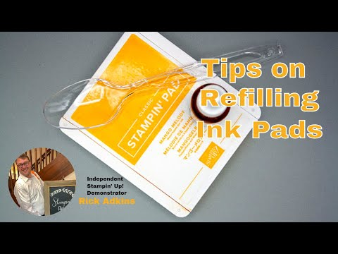 Tips For Refilling Your Ink Pads - Stampin' Up!