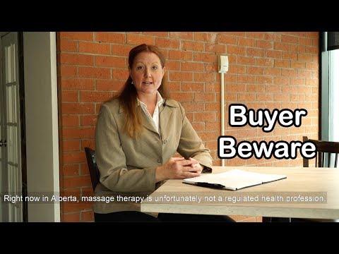 Buyer Beware - Massage at the Club Edgemont