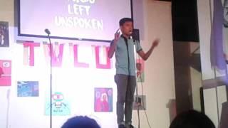 Juan Miguel Severo // The Words Left Unspoken 093015 #COMMSOCTWLU
