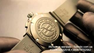 Видео обзор.наручные часы Hublot Big Bang black Арт.006