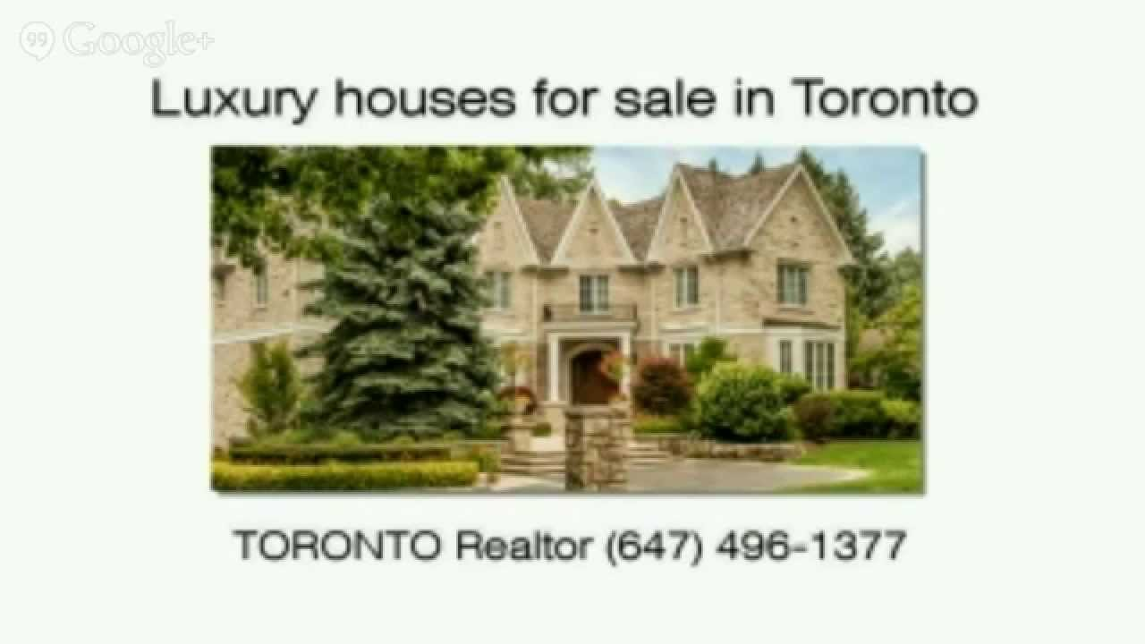 Luxury Homes For Sale In Toronto | Luxury Real Estate Toronto Ontario