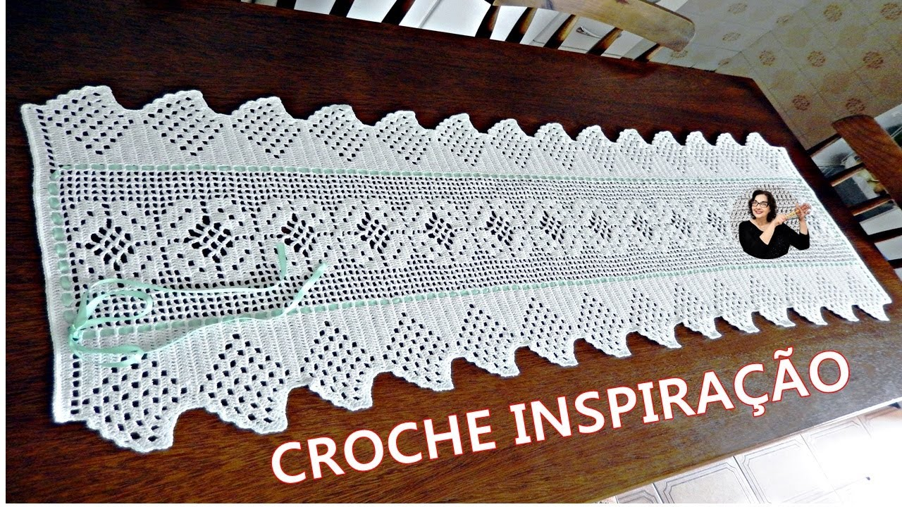 CROCHE COM RECEITA - YOUTUBE - YouTube