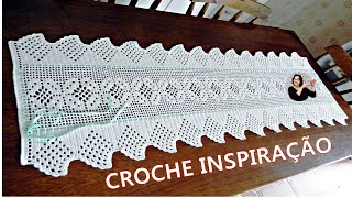 Camino de mesa elegante en crochet 2 las maravillas del for Camino de mesa elegante en crochet