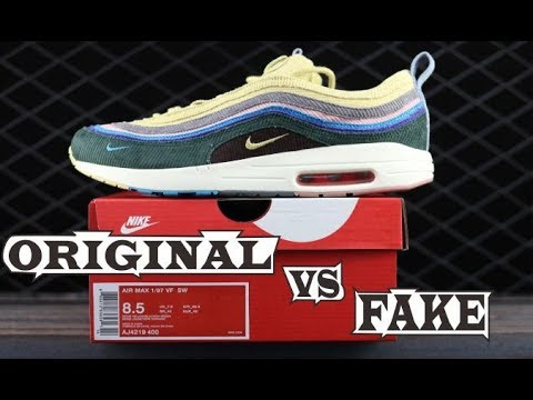 REAL VS FAKE AIRMAX 197 sean wotherspoon YouTube