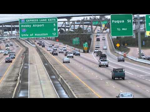 Interstate 45 Gulf Freeway Houston Texas