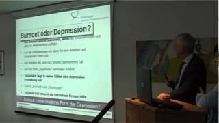 Burnout - eine moderne Form der Depression?