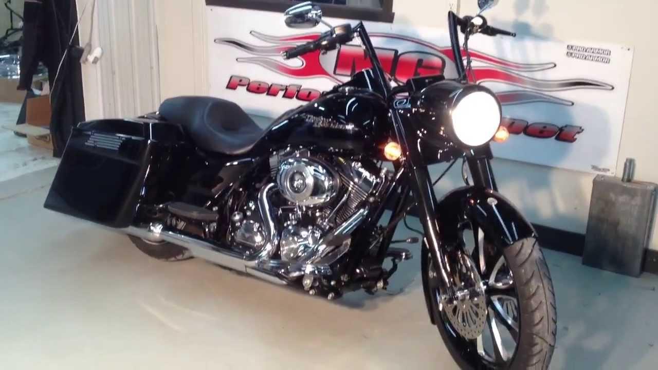 Harley Street 500 >> 2010 HARLEY DAVIDSON ROAD KING - YouTube