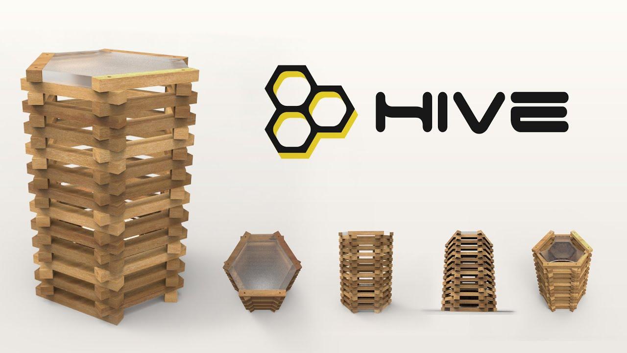 Hive Stool Smart furniture YouTube